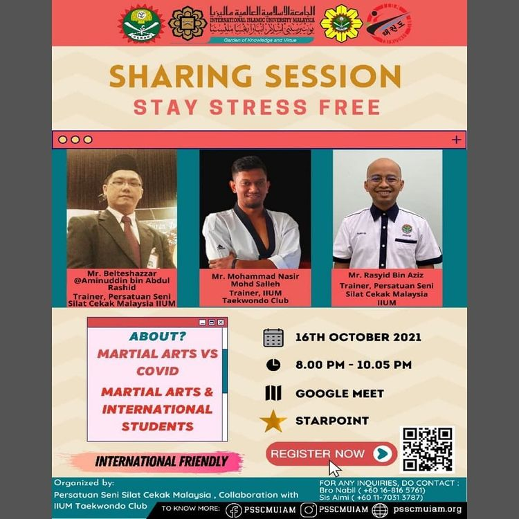 [ SHARING SESSION: STAY STRESS-FREE ]